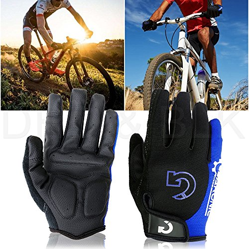 GEARONIC TM New Fashion Cycling Bike Bicycle Motorcycle Shockproof Foam Padded Outdoor Sports Ha ...