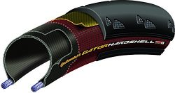 Continental Gator Hardshell Urban Bicycle Tire with Duraskin (700×23, Wire Beaded)