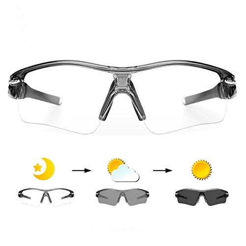 WHEEL UP Photochromic Sunglasses Cycling Sports Mountain Road Bicycle Eyewear