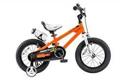 Royalbaby BMX Freestyle Kid's Bike, 12 inch wheels, Orange