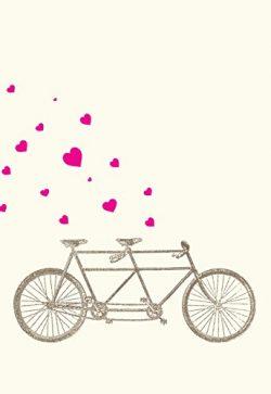 Lark Press Tandem with Hearts Love Card, 3.5 X 4.75 (1)