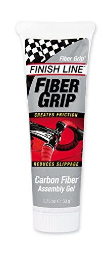Finish Line Fiber Grip Carbon Fiber Bicycle Assembly Gel, 1.75-Ounce Tube