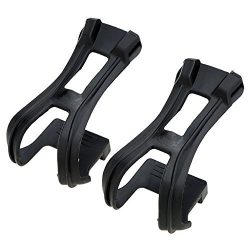 Toe Clips – TOOGOO(R)MTB Road Bike Fixed Gear Cycling Bicycle Strapless Toe Clips