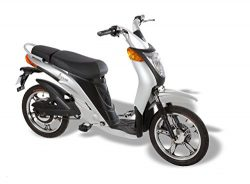 Jetson Lithium Ion Powered Eco-Friendly Electric Bike – Silver