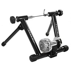 Xspect Fluid Exercise Bike Trainer Stand Black with Fluid Resistance, Indoor Bike Cycling Stand