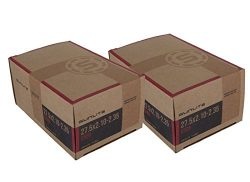 2 PACK – Tube – 27.5″ x 2.10-2.35″ 32mm Schrader Regular Valve Valve. Re ...