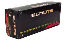Sunlite Thorn Resistant Schrader Valve Tube, 26 x 1.90-2.35″ / 48mm, Black