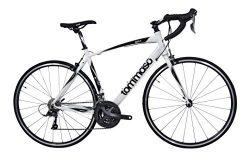 Tommaso Imola Endurance Aluminum Road Bike, Shimano Claris R2000, 24 Speeds – White &#8211 ...