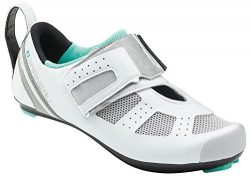 Louis Garneau Women's Tri X-Speed 3 Triathlon Bike Shoes, White/Mojito, US (11.5), EU (43)