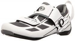 Pearl iZUMi Women's W Tri Fly Select V6 Cycling Shoe, White/Shadow Grey, 42 EU/10 B US