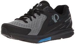 Pearl iZUMi Men's X-Road Fuel v5 Cycling Shoe, Black/Grey, 49.0 M EU (14 US)