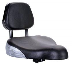 Sunlite Backrest Saddle, 9 x 11″, Black
