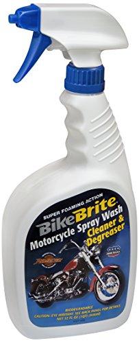 Bike Brite MC44K Blue/White Motorcycle Spray Wash Gift Pack – 32 fl. oz.