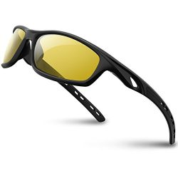 RIVBOS Polarized Sports Sunglasses Driving Sun Glasses shades for Men Women Tr 90 Unbreakable Fr ...