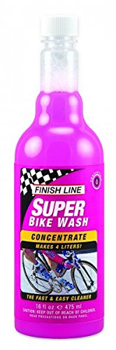 Finish Line Super Bike Wash Concentrate Bicycle Cleaner, 16-Ounce