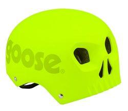 Mongoose MG78332-2 Street Youth Skull Hardshell, Neon Yellow
