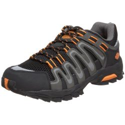 Harley-Davidson Men's Chase Athletic Motorcycle Hiker, Black/Orange, 13 M US
