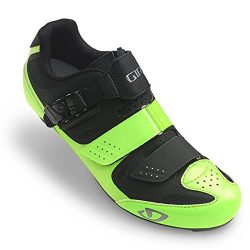 Giro Solara II Womens Road Cycling Shoes Highlight Yellow/Black 42