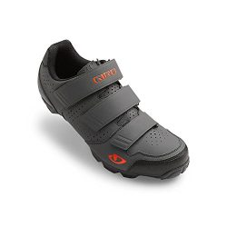 Giro 2016 Carbide R Dirt Cycling Shoes – Dark Shadow/Flame (Dark Shadow/Flame – 40)