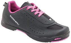 Louis Garneau Women's Urban Bike Shoes, Black/Pink, US (9), EU (40)