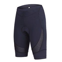 beroy Womens Bike Shorts with 3D Gel Padded,Cycling Women's Shorts (M, Black)