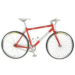 Tour de France Stage One Vintage Fixie Bike, 700c Wheels, Men's Bike, Red, 51 cm Frame