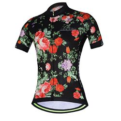Cycling Jersey Women Aogda Bike Shirts Bicycle Bib Shorts Ladies Biking Pants Tights Clothing (J ...