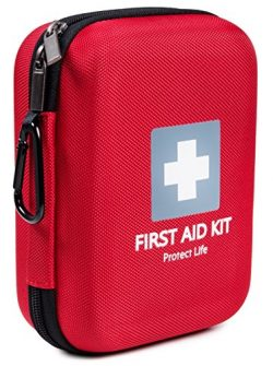 First Aid Kit – 150 piece – for Car, Home, Travel, Sports, Camping, Hiking or Office ...