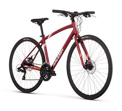 Raleigh Alysa 2 Women's Urban Fitness Bike, 13″ /XS Frame, Red, 13″ / X-Small