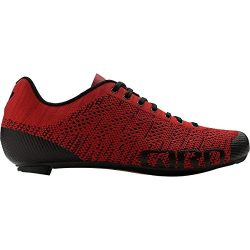 Giro Empire E70 Knit Cycling Shoes – Men's Bright Red/Dark Red 42
