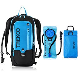 Trekoo 10L Hydration Backpack Pack with 2L Leak Proof Water Bladder,Prefect Outdoor Gear for Run ...