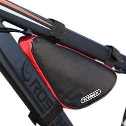 Cycling Bicycle Bike Bag Top Tube Triangle Bag Front Saddle Frame Pouch Outdoor Red by Roswheel