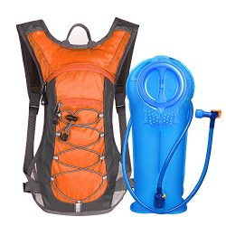 Unigear Hydration Pack Backpack with 70 oz 2L Water Bladder for Running, Hiking, Cycling, Climbi ...