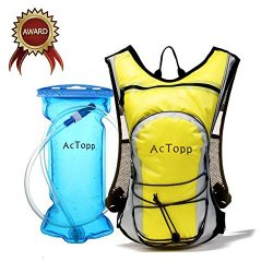 ACTOPP Hydration Backpacks- 4L Hydration Bladder Backpack and 2L Bladder Bag, Waterproof and Adj ...