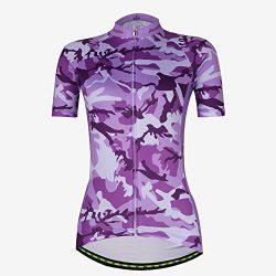 Cycling Jersey Women Aogda Bike Shirts Bicycle Bib Shorts Ladies Biking Pants Tights Clothing (L ...
