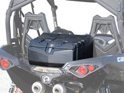 SuperATV Can-Am Maverick Heavy Duty Rear Cargo Box (2013+) – Keep Your Belongings Dry and  ...