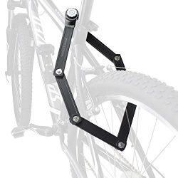 Trelock Bike Folding Lock, Foldable Combination Bicycle Lock – Heavy Duty Steel 34 Inch Ba ...