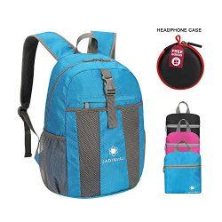 JADINVALI Travel Backpack Daypack Hiking Backpack Lightweight Packable Foldable Collapsible Back ...