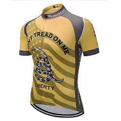 Weimostar USA Flag Men Cycling Jersey Short Sleeve Bike Clothes,Bicycle Jersey,Biking Shirt Quic ...