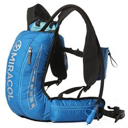 MIRACOL Hydration Vest Backpack with 2L BPA FREE Bladder Keeps Liquid Cool Up To 4 Hours Lightwe ...
