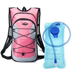 Monvecle Hydration Pack Water Rucksack Backpack Bladder Bag Cycling Bicycle Bike/Hiking Climbing ...