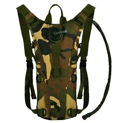 Bormart 3L 3 Liter 100 ounce Hydration Pack Bladder Water Bag Pouch Hiking Climbing Hunting Runn ...