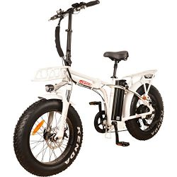NEW! DJ Folding Bike 750W 48V 13Ah Power Electric Bicycle, Samsung Lithium-Ion Battery, 7 Speed, ...