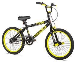 Razor High Roller BMX/Freestyle Bike, 20-Inch, Yellow