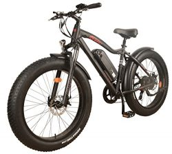 NEW! DJ Fat Bike 750W 48V 13Ah Power Electric Bicycle, Samsung Lithium-Ion Battery, 7 Speed, Mat ...