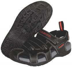 Exustar E-SS503 Bike Sandal, Black, 41/42 Euro or 8-9 US