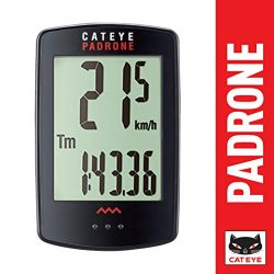 CatEye Padrone, Cycle Computer, Black