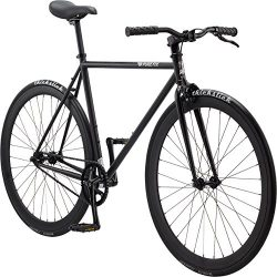 Pure Fix Original Fixed Gear Single Speed Bicycle, Juliet Matte Black, 50cm/Small