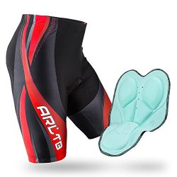 Arltb Bike Shorts 5 Sizes Men & Women Gel Padded Cycling Bicycle Compression Cycle Touring S ...