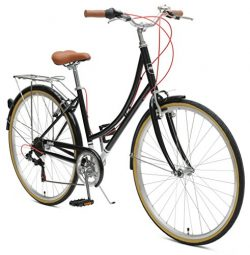 Critical Cycles Beaumont-7 Seven Speed Lady's Urban City Commuter Bike, Black, 44cm (Mediu ...